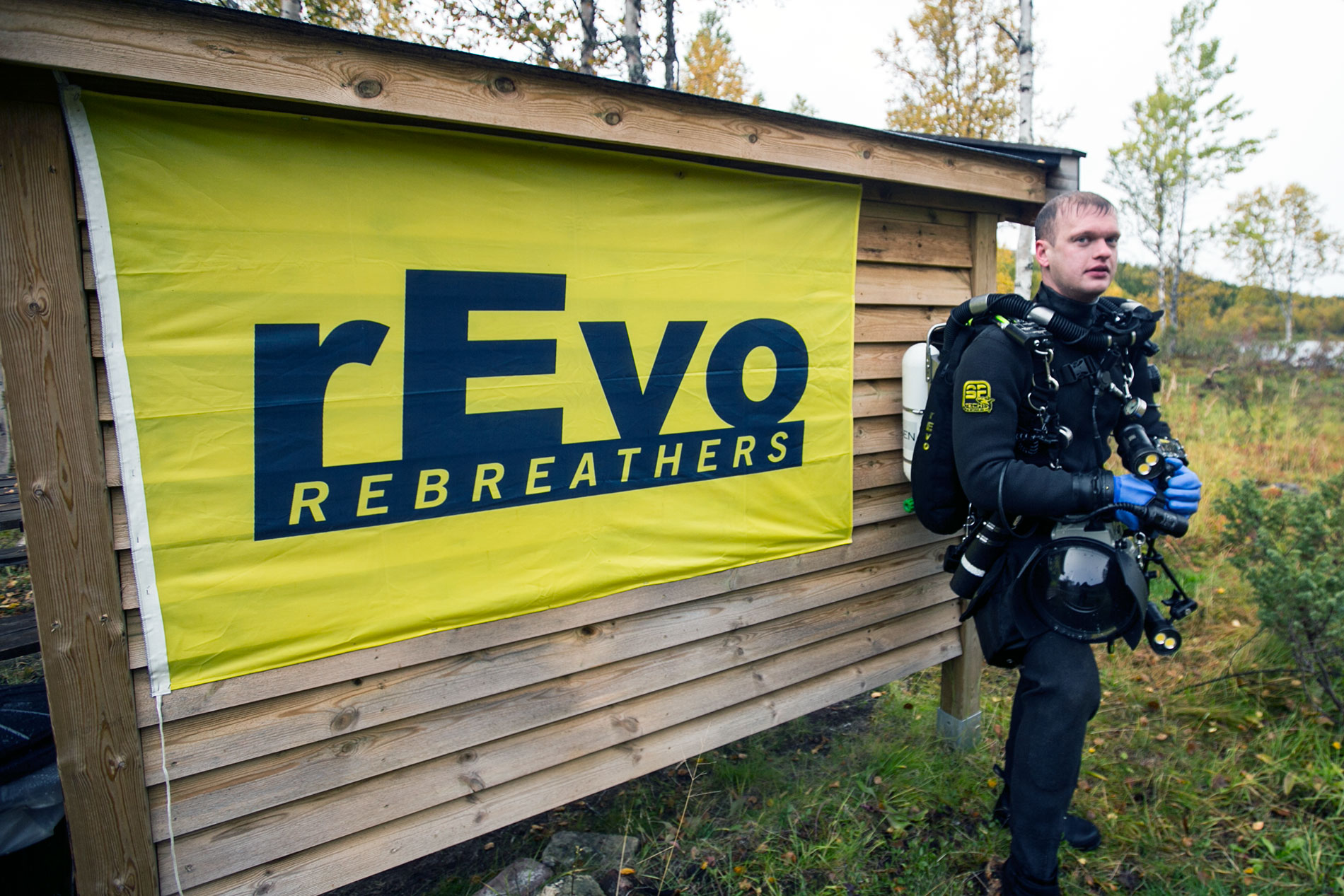 Visit Plura rEvo rebreathers center