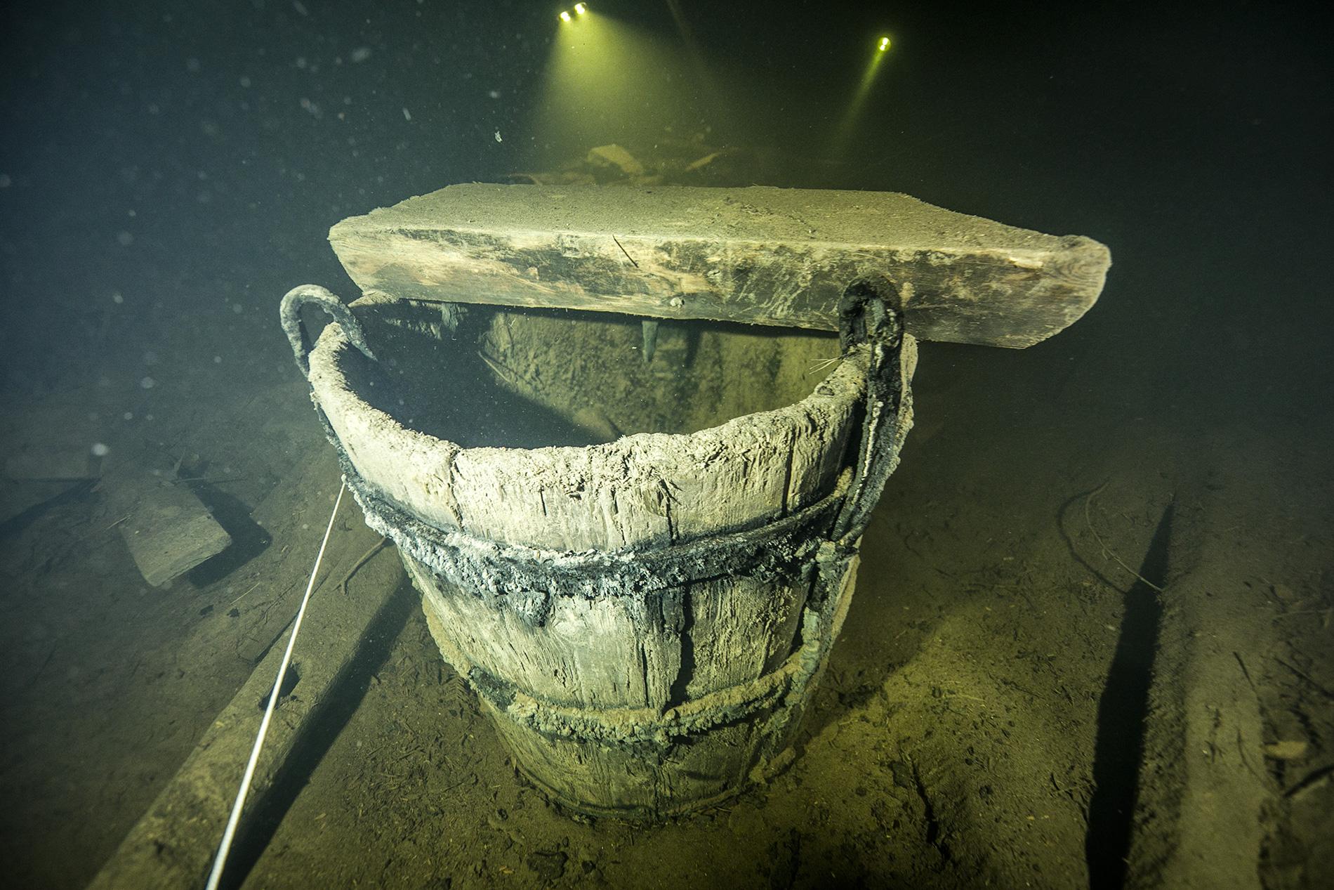 Бочка в шахте Герберц 1