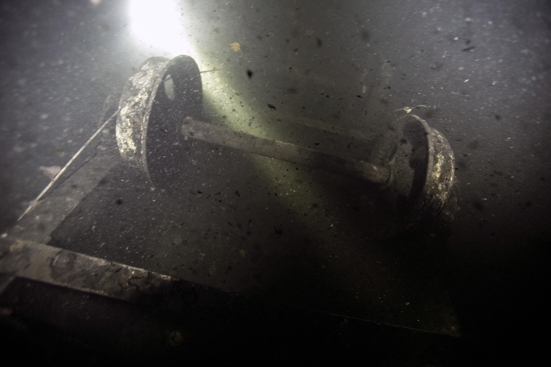 Вагонетка 28м метров в открытой воде